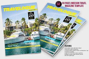 Indesign Travel Magazine Template
