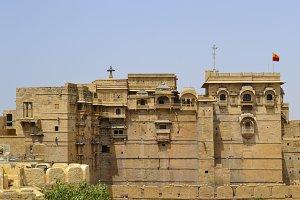 Jaisalmer arquitecture, India