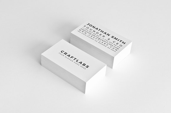 Simple Personal Business Card 46 Cards