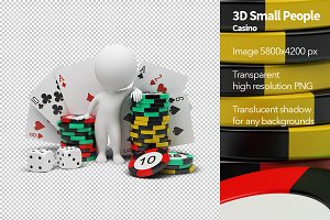 3D Small People - Casino