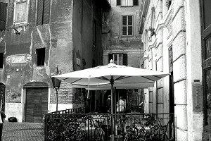 Piazza Trastevere in Roma