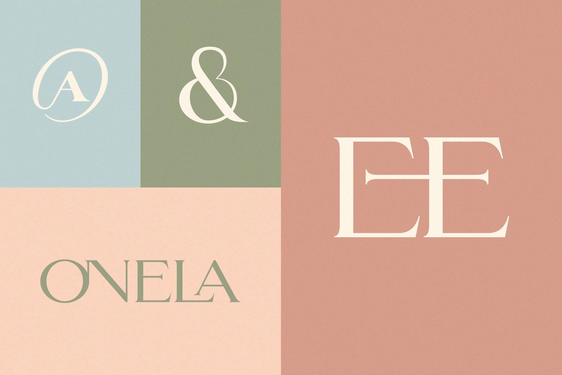 ligatures ligature font minimalist font display font classy font elegant font serif wedding font modern font logo font fashion social media modern serif 8 10