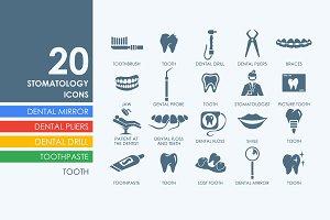 20 Stomatology icons