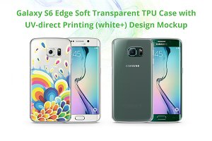 Galaxy S6 Edge TPU Case UV Print Moc