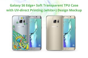 Galaxy S6 Edge+ TPU Case UV Print