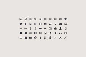 50 Retina Icons