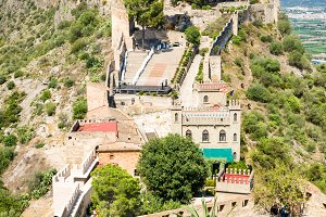 Xativa Castle, Valencia, Spain