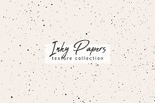 Inky Papers Texture Collection by  in Graphics