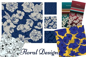 Floral Collection: patterns & cards