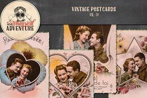 Vintage Postcards Vol.01
