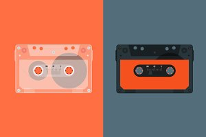Retro Audio cassette.