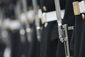 Soldiers of honoured household troop