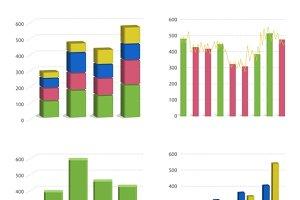 Bar chart graph