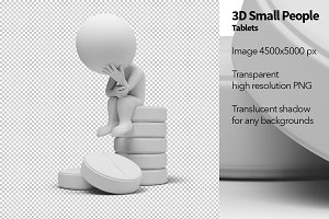 3D Small People - Tablets