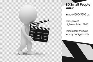 3D Small People - Clapper