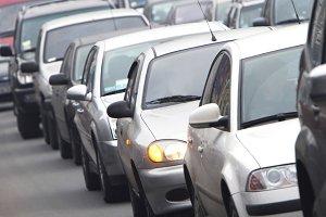 Rush hour in Kiyv