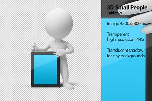 3D Small People - Tablet-PC