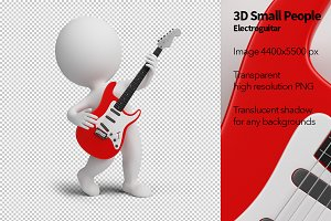 3D Small People - Electroguitar