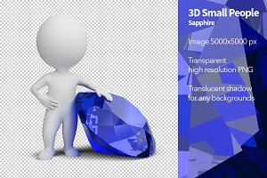 3D Small People - Sapphire