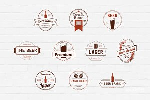Beer Badges Logos