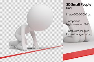 3D Small People - Start