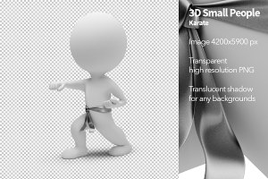 3D Small People - Karate