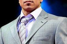 Tie - suit detail