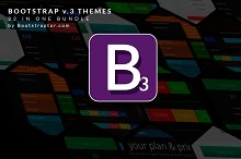 Bootstrap 3.0. themes Mega Bundle