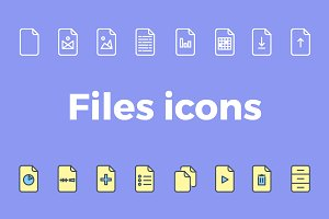 32 Files icons pack, icons set