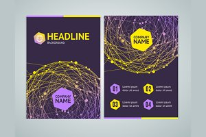 Abstract Brochure Flyer Design