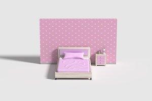 Pink bedrrom
