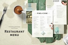 Restaurant Menu | Food and Drinks by  in Templates