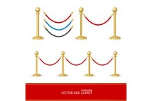 Red Carpet Barrier Constructor.