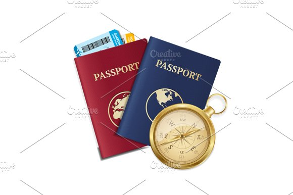 Travel and Tourism Concept. Vector - Illustrations