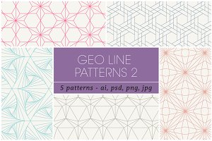 Geometric Line Patterns 2