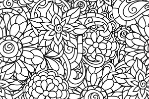 Seamless nature patterns.
