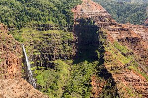 Waimea Valley Landscape Kauai