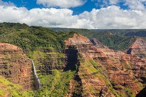 Waimea Valley Canyon in Kauai