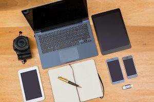 Overhead responsive design desktop