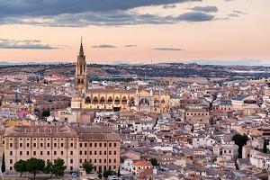 Cityscape and Skyline Toledo Spain