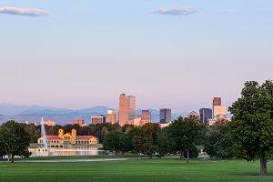Cityscape of Denver Colorado