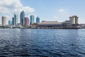City skyline of Tampa Florida