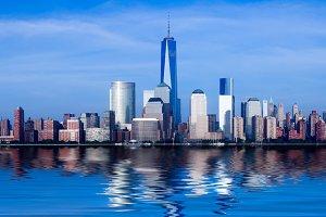 Panorama of Manhattan New York