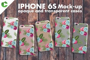 Iphone 6S Case + Device Mock-Up