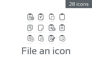 File an icon