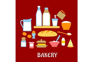 Bakery concept with dough ingredient