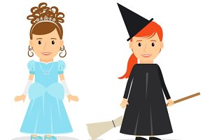 Little Princess and Little Witch