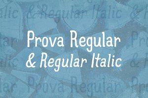Prova Regular & Regular Italic