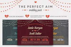 Perfect Aim Wedding Pack