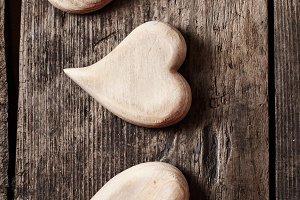 Symbolic of hearts